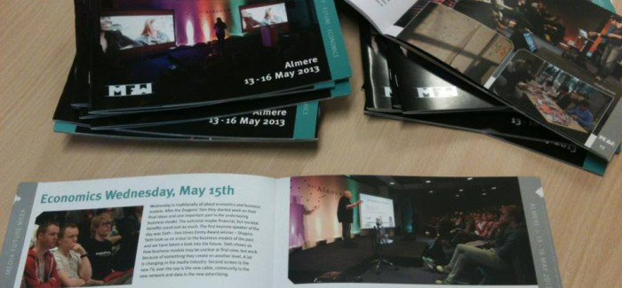MFW13 impression booklet